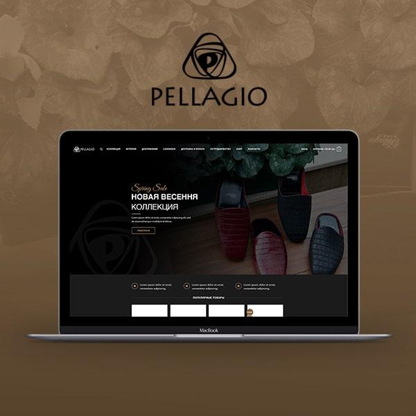Pellagio. Web Design UX/UI. CRM integration. Web Development.
